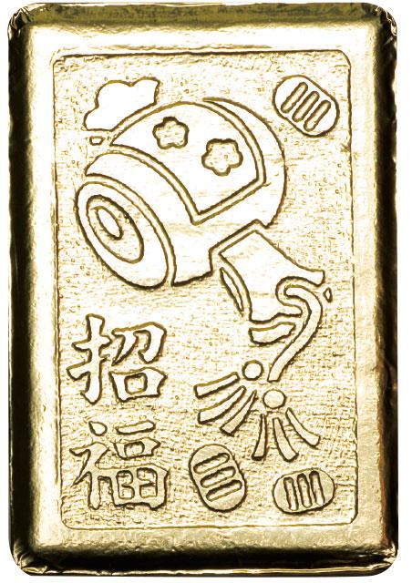 御年賀金かい?タオル(小槌)(10個セット)