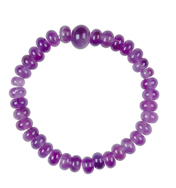 紫水晶ブレス