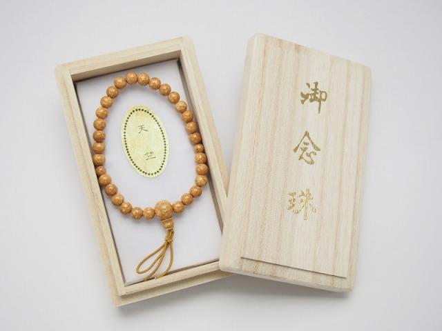【大特価品】天竺菩提樹共仕立腕輪念珠(尺玉)
