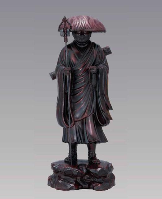 弘法大師像(茶色)