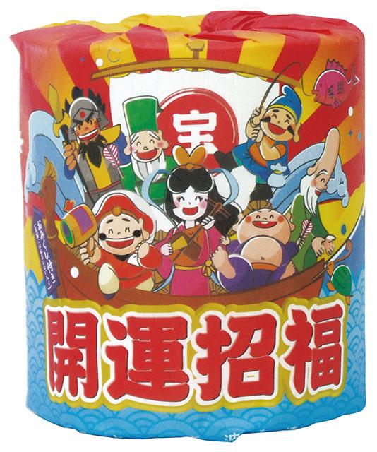 開運七福神トイレットロール(100個セット)