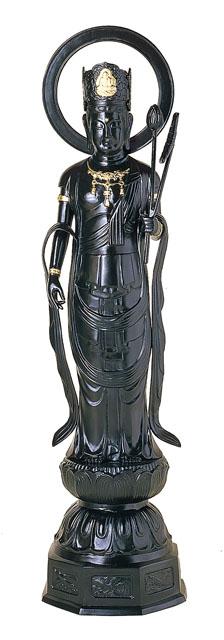 唐金仏像 五尺聖観音像