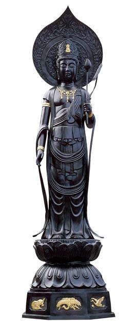 唐金仏像 聖観音像