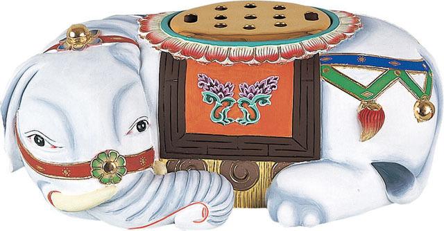 象香炉(木製)