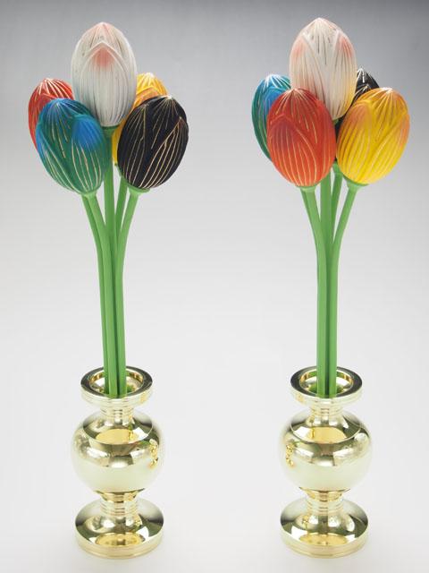 木製二瓶華
