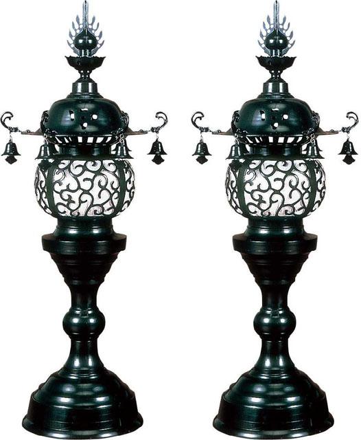 丸型台灯籠(一対)
