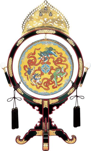 楽太鼓(台・ばい・房付)