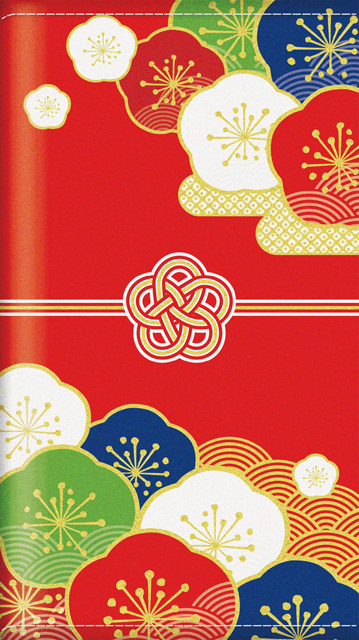 不織布のし袋セット(縁起梅)(10冊セット)