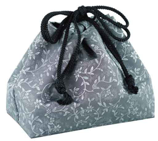 携帯用箱形香炉専用巾着袋
