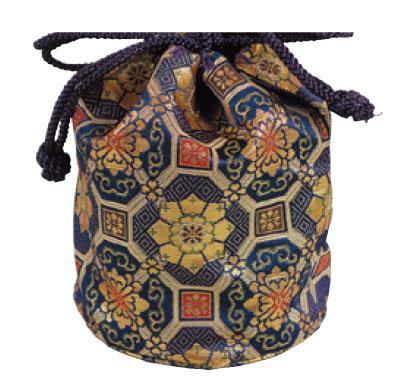 携帯用二段式丸香炉専用巾着袋