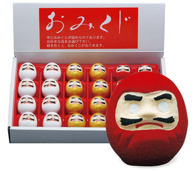 セラみくじ「ダルマ」(ケース付)24個1組