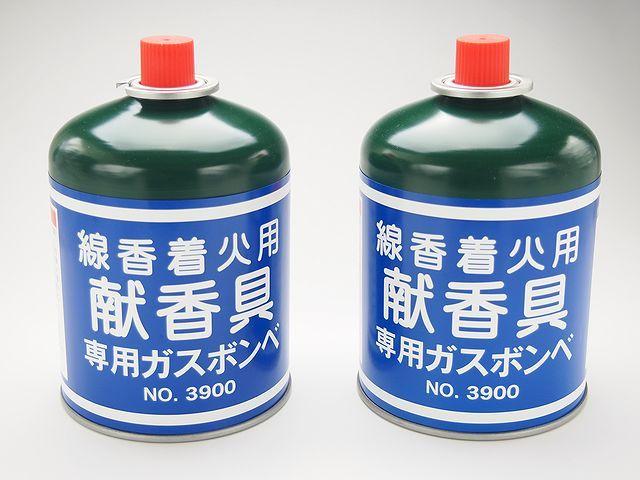 献香具交換用ガスボンベ2本1組