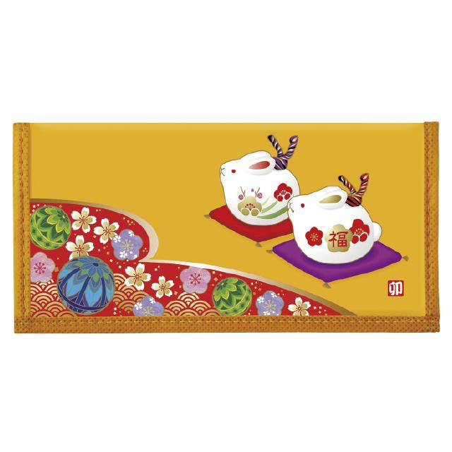 干支カレンダー財布(民芸柄)(10個セット)