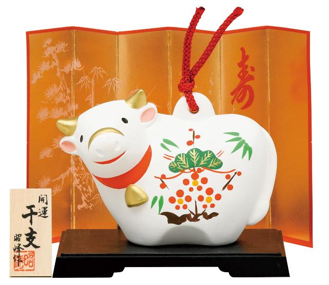 干支大型土鈴(松竹梅)(10個セット)