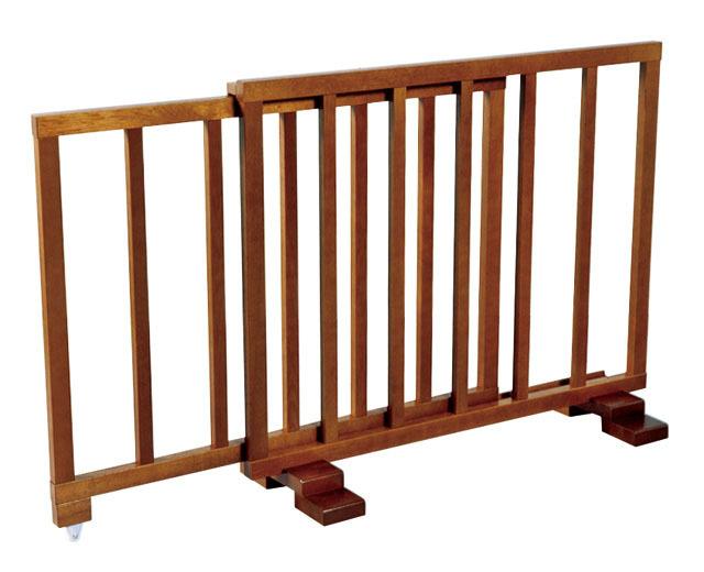 木製スライド式結界(桟細型)