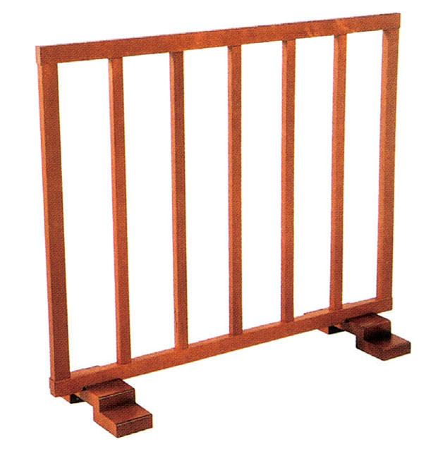 木製固定式結界(桟細型)