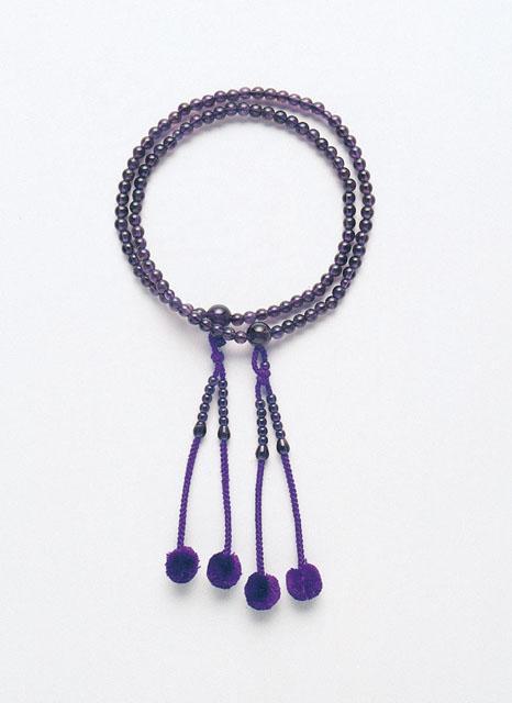 京念珠<真言宗>紫水晶