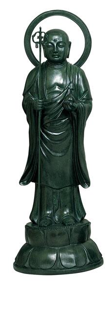 唐金仏像 地蔵菩薩(地獄能化)