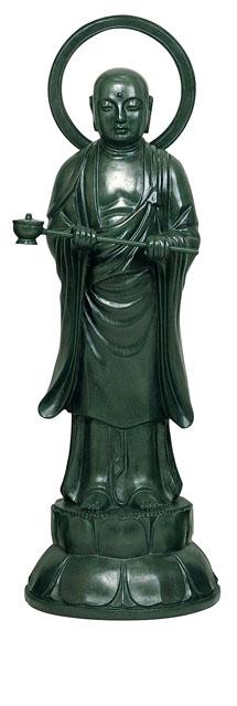 唐金仏像 宝処菩薩(畜生能化)