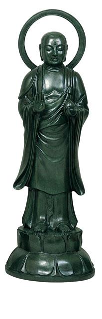 唐金仏像 持地菩薩(人間能化)