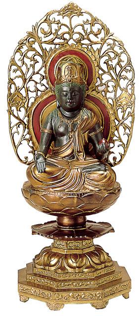 唐金仏像 虚空蔵菩薩