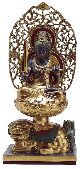 唐金仏像 文殊菩薩
