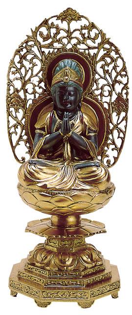 唐金仏像 勢至菩薩