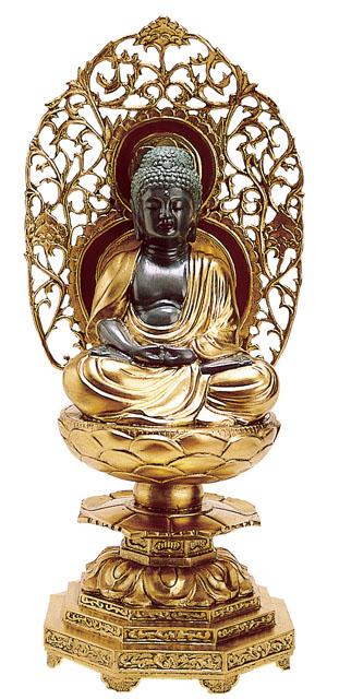 唐金仏像 阿弥陀如来