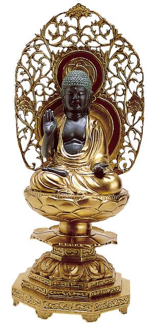 唐金仏像 釈迦如来