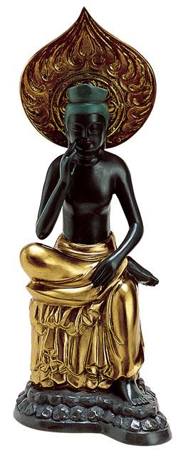 唐金仏像 弥勒菩薩