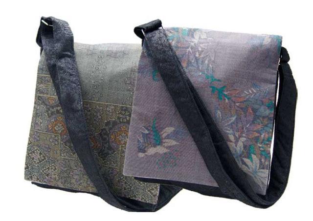 絹ショルダーバッグ