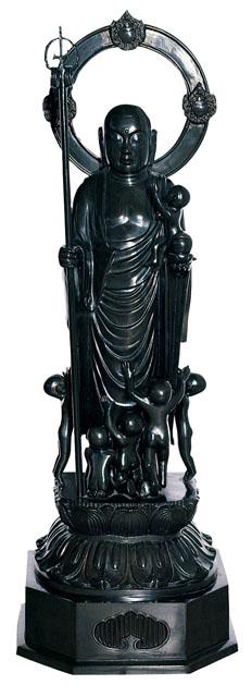 唐金仏像 三尺水子地蔵尊