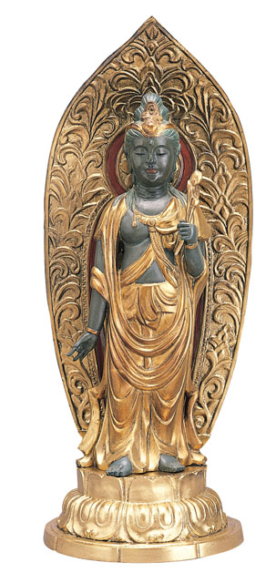唐金仏像 聖観音