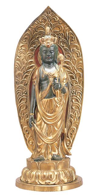 唐金仏像 十一面観音
