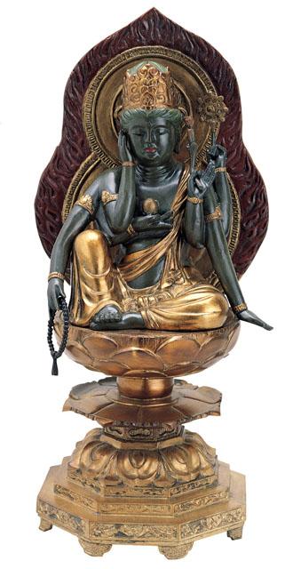唐金仏像 如意輪観音