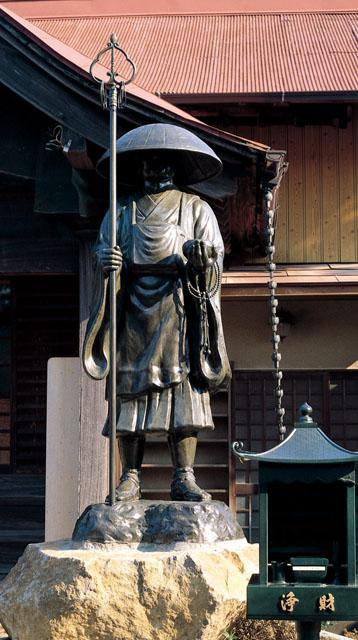 唐金仏像 八尺修行大師尊像