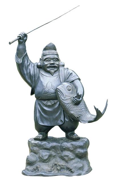 唐金仏像 恵比寿