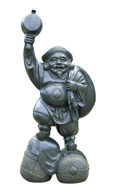 唐金仏像 大黒天