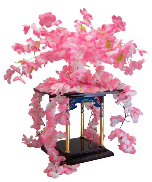 桜冠&桜屋根飾りセット(1.5尺用)
