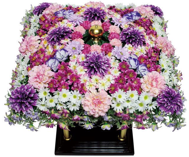花御堂用シルク花飾り(2018年デザイン)