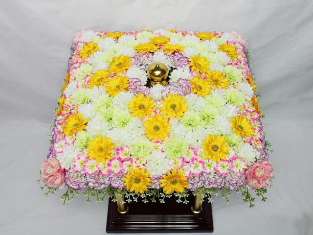 花御堂用シルク花飾り(2019年デザイン)