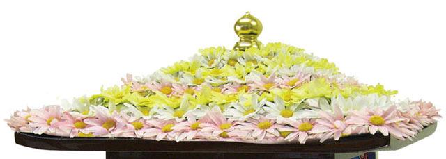 花御堂用花飾り
