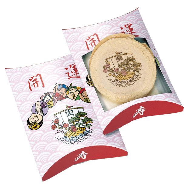 開運宝船絵ゴーフレット(80箱セット)