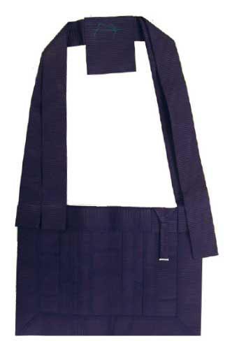正絹絽 9寸絡子(紫)