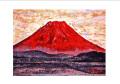 紅富士 赤富士 ポストカード