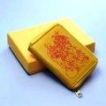 七福神の黄色い小銭入れ   ヒランヤで定評ある【ダイワヘルス研究所】