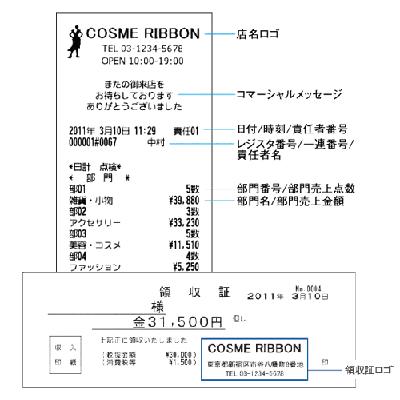シャープ電子店名スタンプ(SDカードなし)