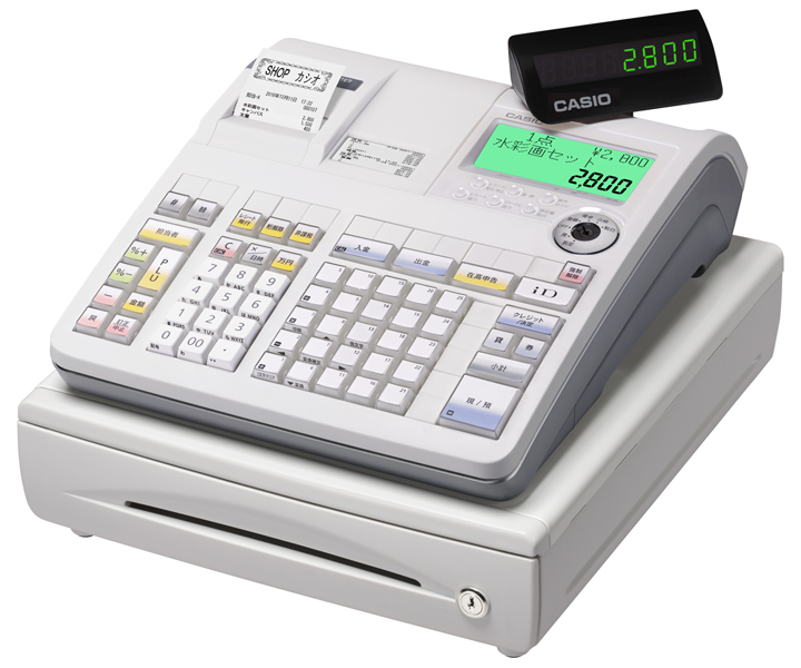 軽減税率対象レジスター カシオ TE-2800-25S
