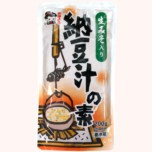 生みそ入り納豆汁の素