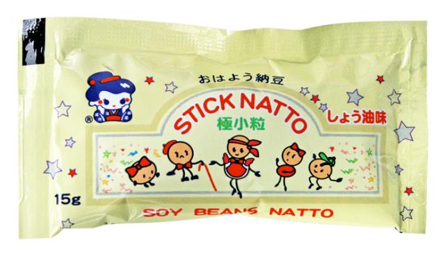 【冷凍限定】スティック納豆 (しょうゆ味)15g/40個(12/28販売終了)